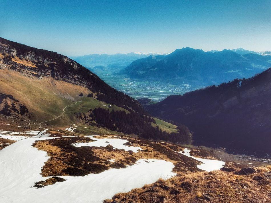 Mountain Wandern Malbun