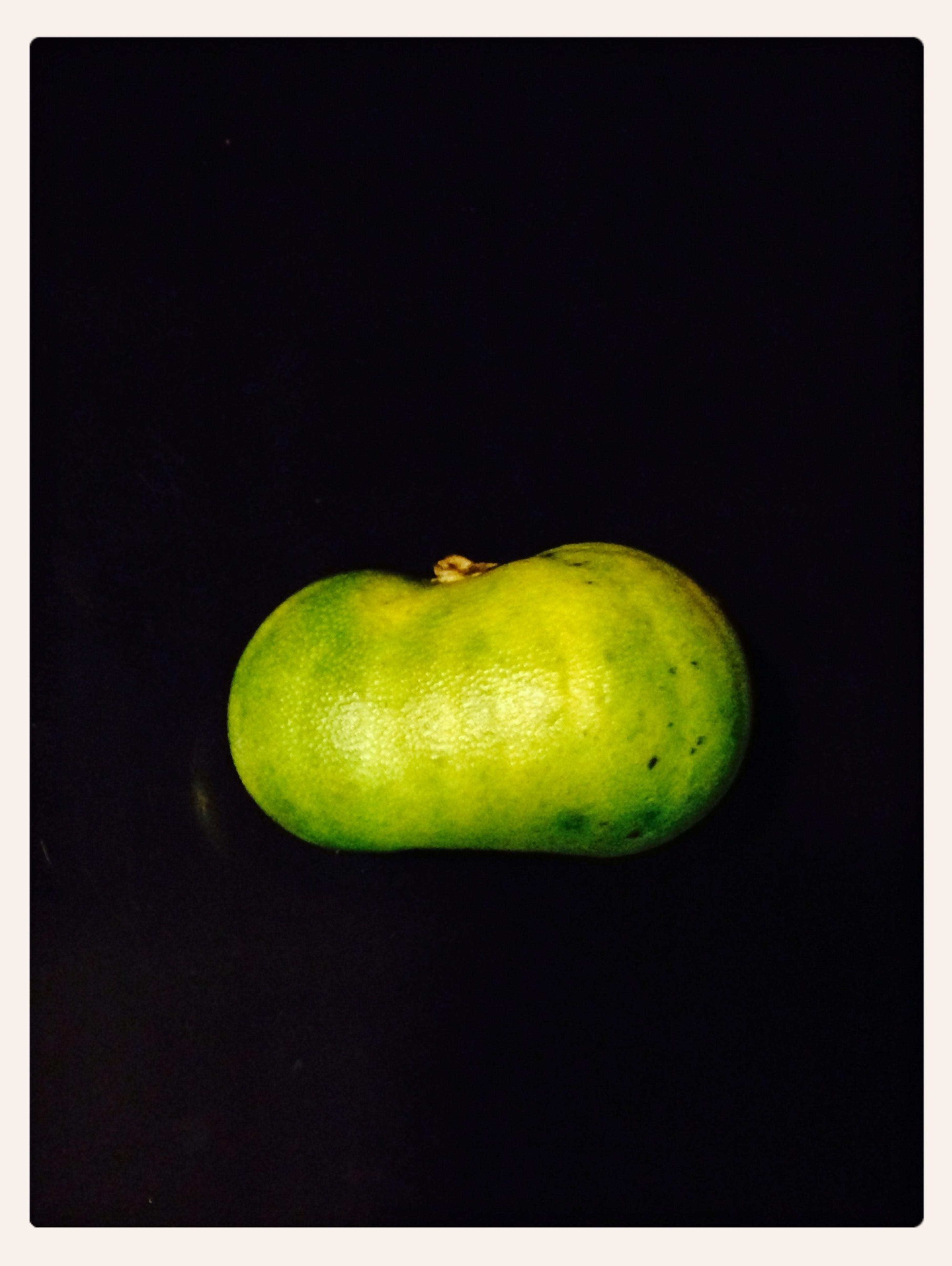 Lemon in pumpkin shape