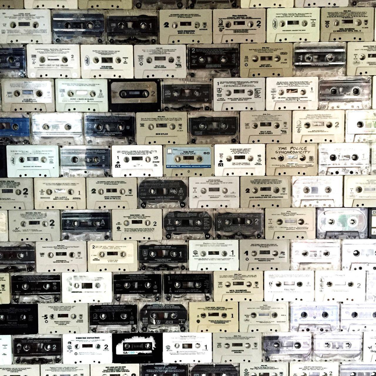 Cassette Wall Art Retro