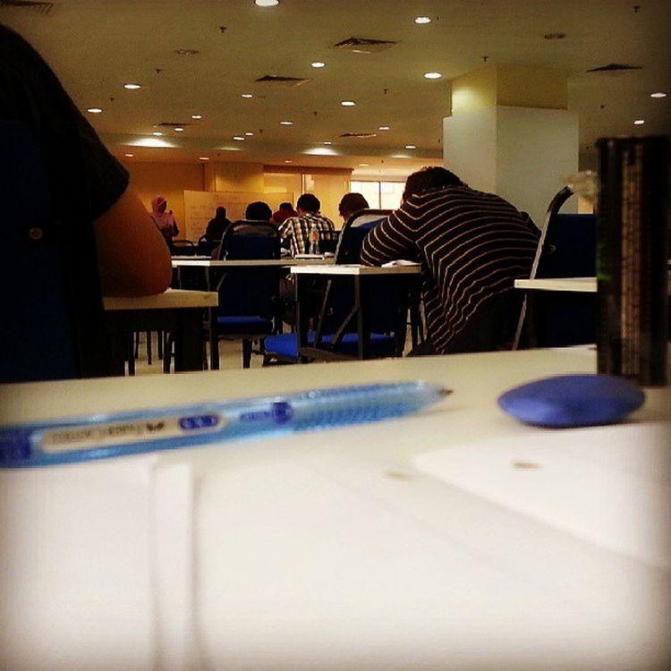 Exam ! SEGi  Subang Diu  Morning
