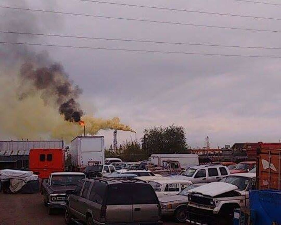 "2016 Suncore Refinery ""Yellow Plume"" Commerce City, Colorado ENVIRONMENTAL HAZARD as it was happening. 303magazine 911 Accidents And Disasters Cloud - Sky Colorado Day Denver,CO Destruction Emergency Epa Fire Hazmat Team Firefighters Land Vehicle Outdoors Sky Transportation"