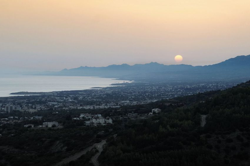 Coastline Cyprus Girne Kyrenia Mountains Beauty In Nature Dawn Day Horizon Over Water Landscape Mountain Mountain Range Nature No People North Cyprus Outdoors Scenics Sea Sky Sun Sunrise Tranquil Scene Tranquility Water