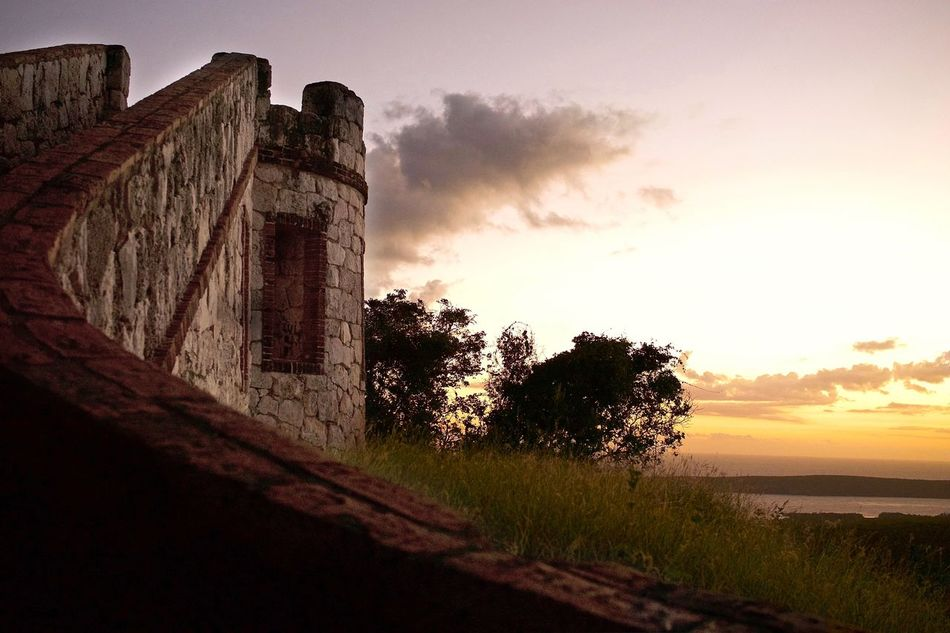 Architecture Beauty In Nature Fort Capron Fuerte Capron Nature Outdoors Scenics Sunset