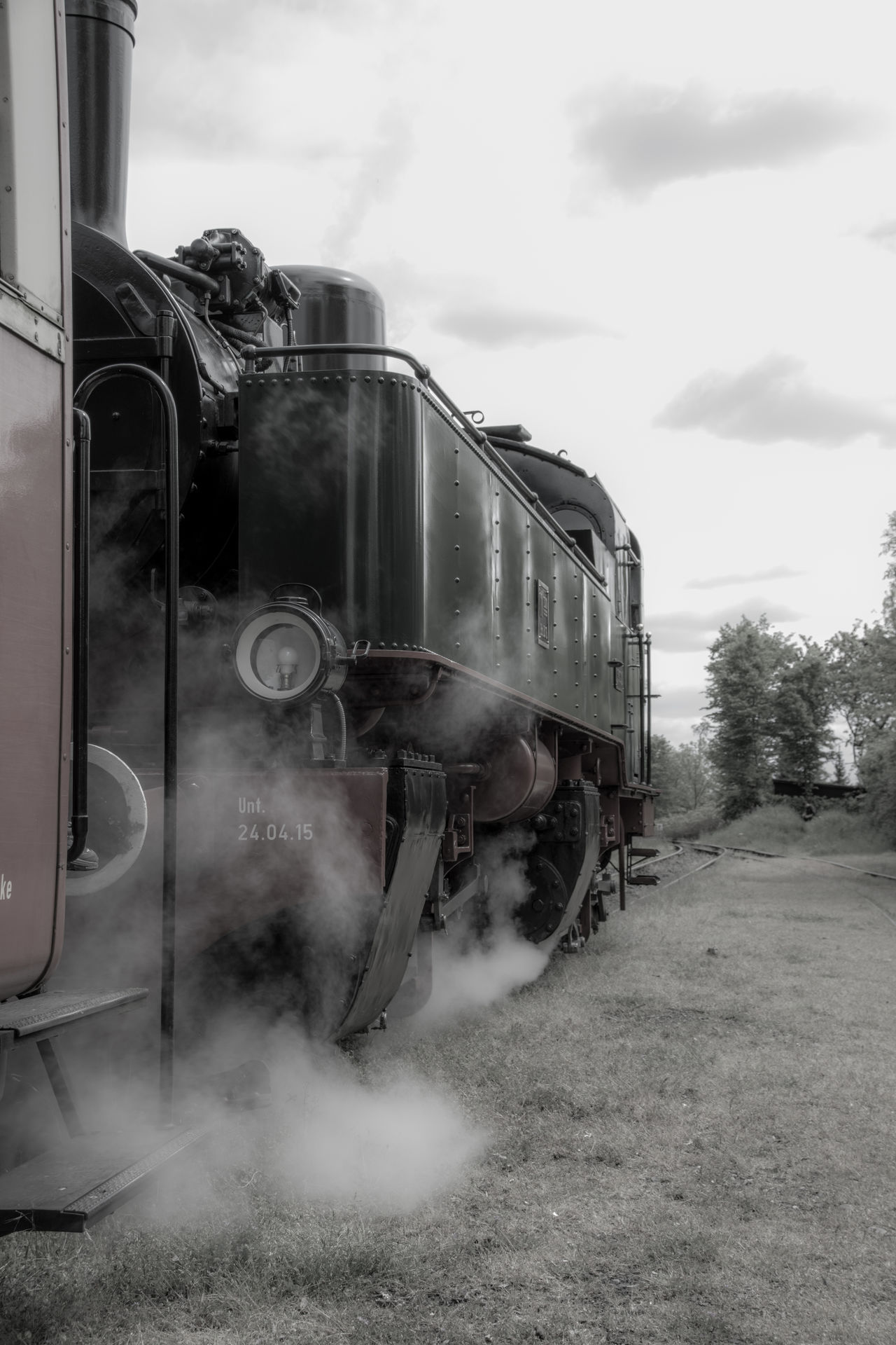 Vulkan-Express Brohltalbahn Dampflok Historic Train Land Vehicle Oldtimer Steam Locomotive Steam Trains Vulkanexpress