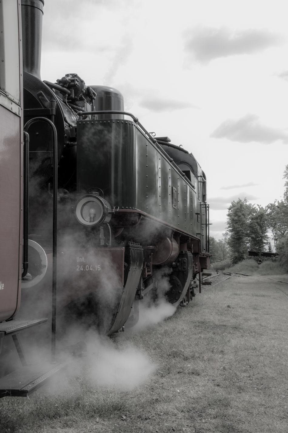 Vulkan-Express Brohltalbahn Dampflok Historic Train Land Vehicle Oldtimer Steam Locomotive Steam Trains Vulkanexpress