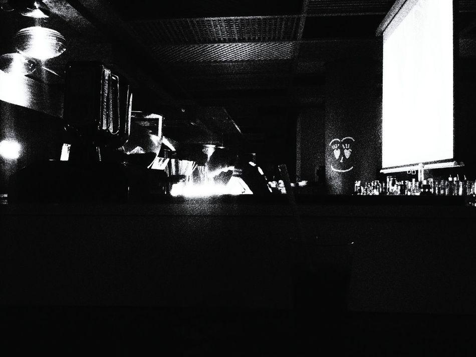 Pub Bar Caraoke Barwoman Night Photography