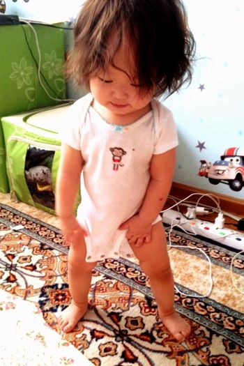 Babygirl Baby First Step