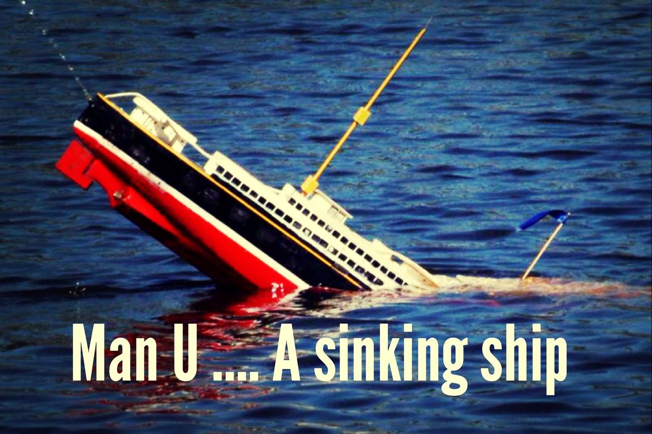 Anfield Liverpool Soccer Manchester Utd a sinking ship