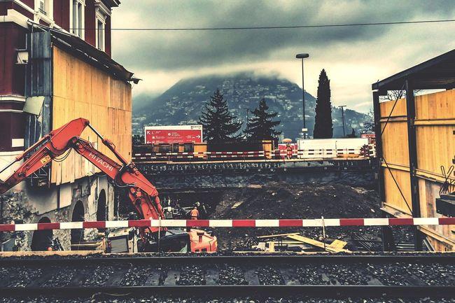 Urban 4 Filter Under construction Public Transportation Railway Train Station EyeEmBestPics EyeEm Check This Out Eye4photography  Getting Inspired Taking Photos