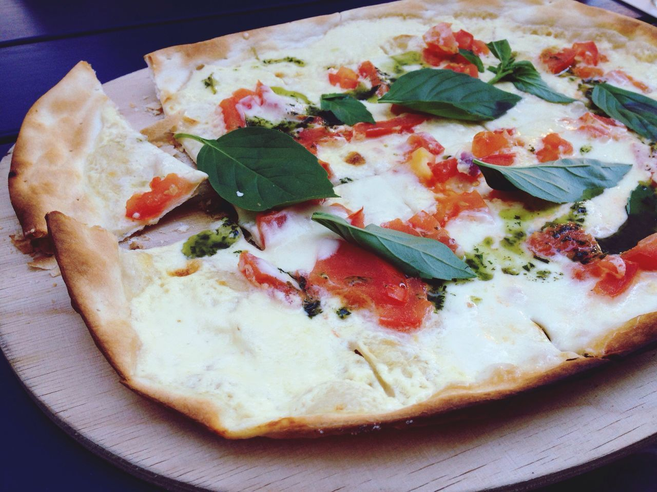Flammkuchen Food Ready-to-eat Food And Drink Serving Size Freshness Tarte Flambee