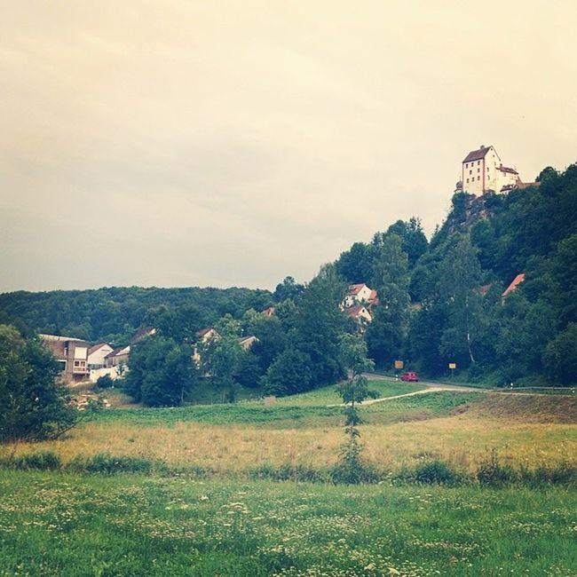 Burg Egglofstein in der Fraenkischeschweiz Bayern deutschland germany franken