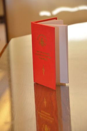 Book Close-up Day Indoors  Libreta Marriage  Marriage Ceremony No People Red Red Book Text Wedding Wedding Day