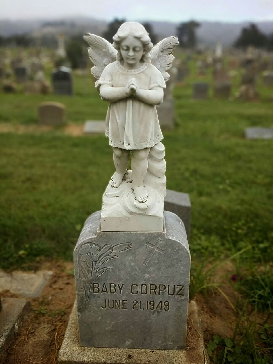 Angel Statue Cemetery