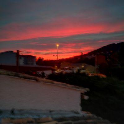 Sunset Sky Night Christmastime MerryChristmas LaGarde Toulon Sud Hello World France Sunset Sunrise Taking Photos