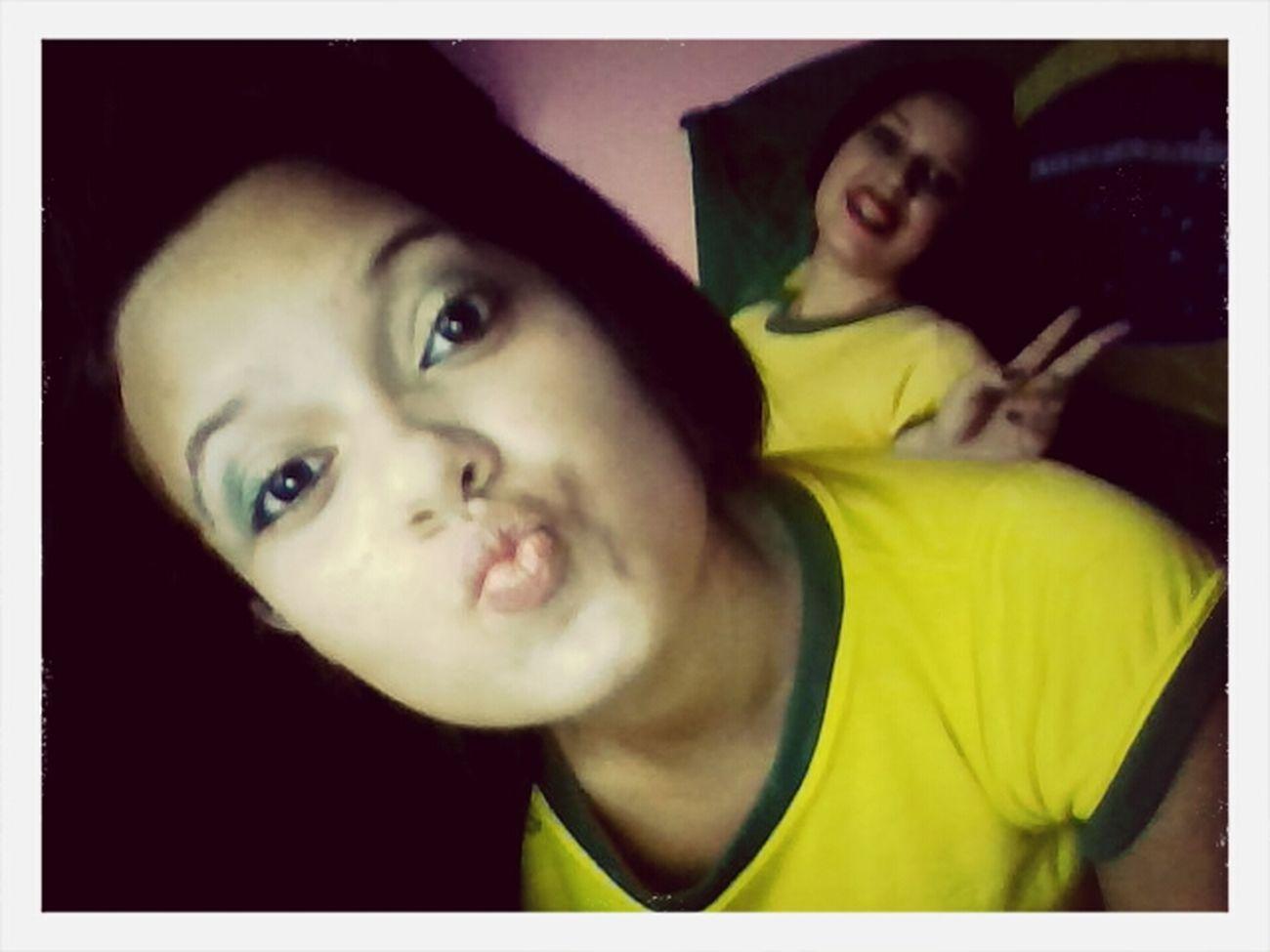 Sisters FIFA World Cup Brasil Fotodeontem First Eyeem Photo