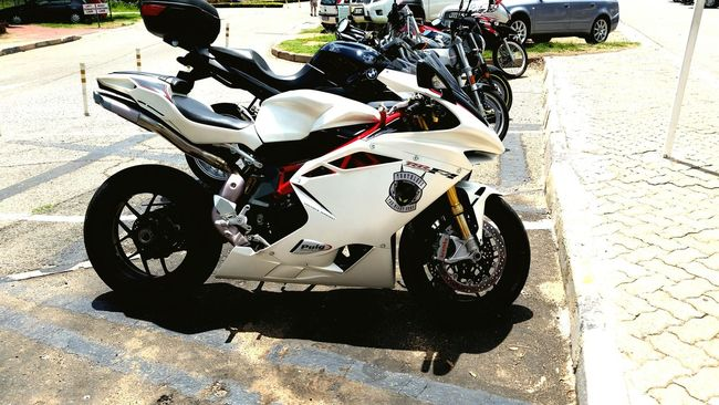 Hanging Out Breakfast Run MV Augusta F4 What's Your Passion? Motorcycle Lover Freedom Of Expression