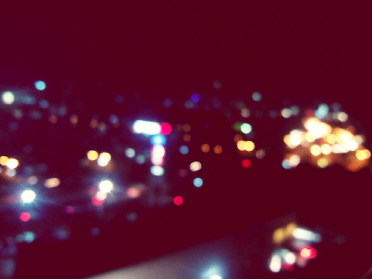 When life gets blurry, adjust your focus. ♡ Fromthebalcony Night Lights EyeemPhilippines