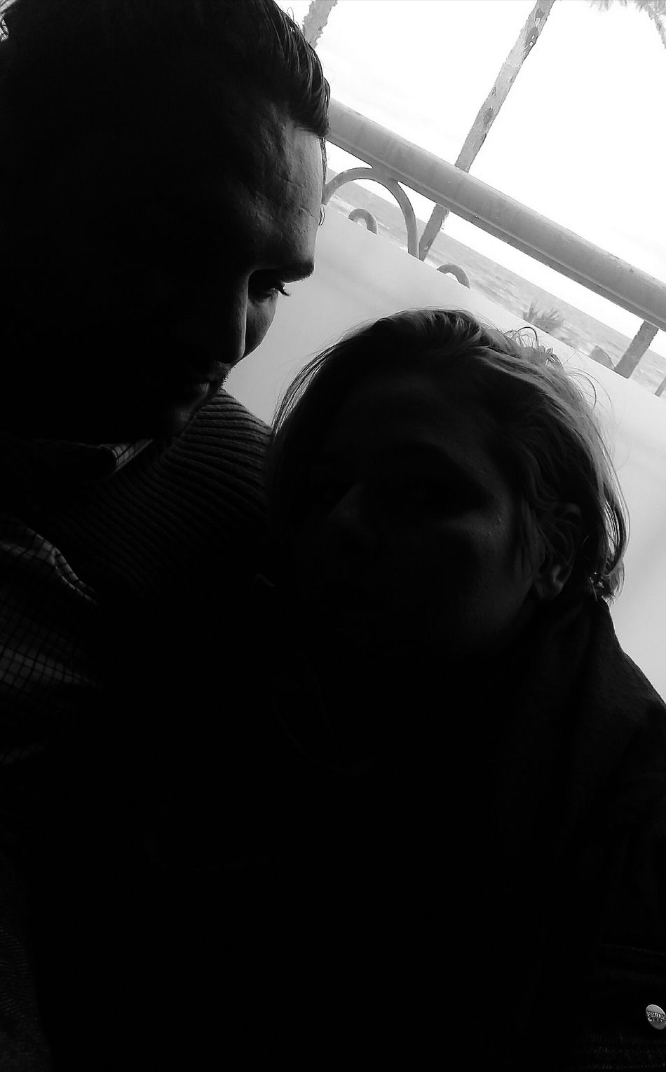 Two People Adults Only Contre-jour Shot 3XSPUnity Cold Temperature Winter Indoors  Emotional Photos Lovers