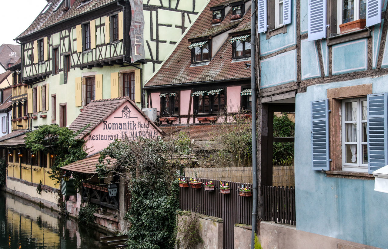Architecture Building Exterior Built Structure City Citytrip Colmar Colmar Architecture Colmar France Colmar, Alsace, France Fachwerk Fachwerkhaus France No People Outdoors Reiselust River Timber Frame House Timbered House Traveling Travellover Water Travel