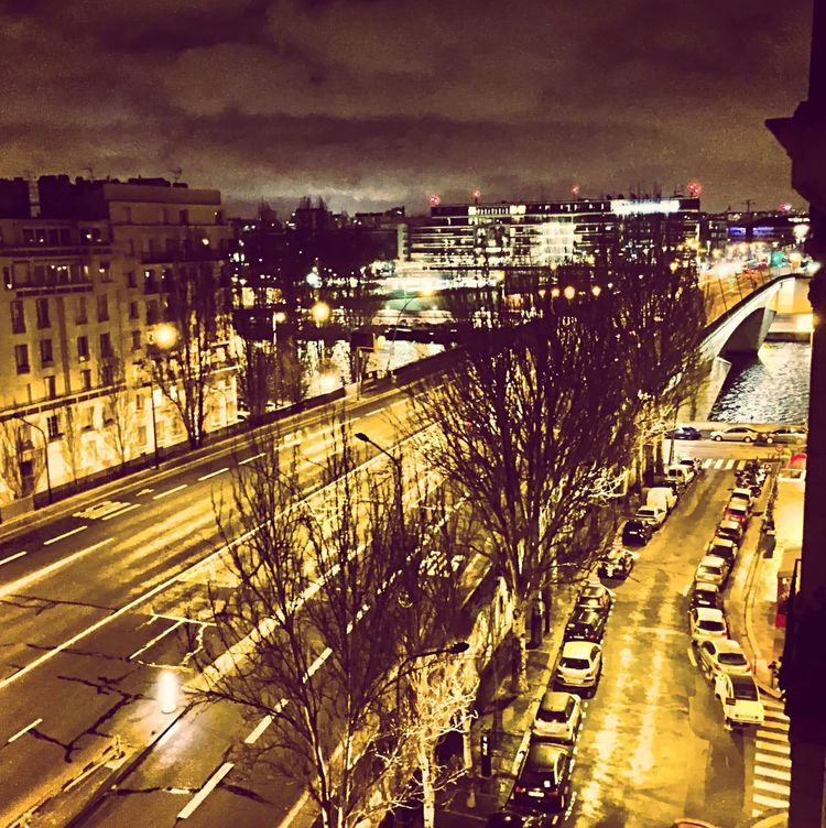 Paris Pont Du Garigliano La Seine Seine Cityscape Cityscapes Rivers Nightphotography Night Photography