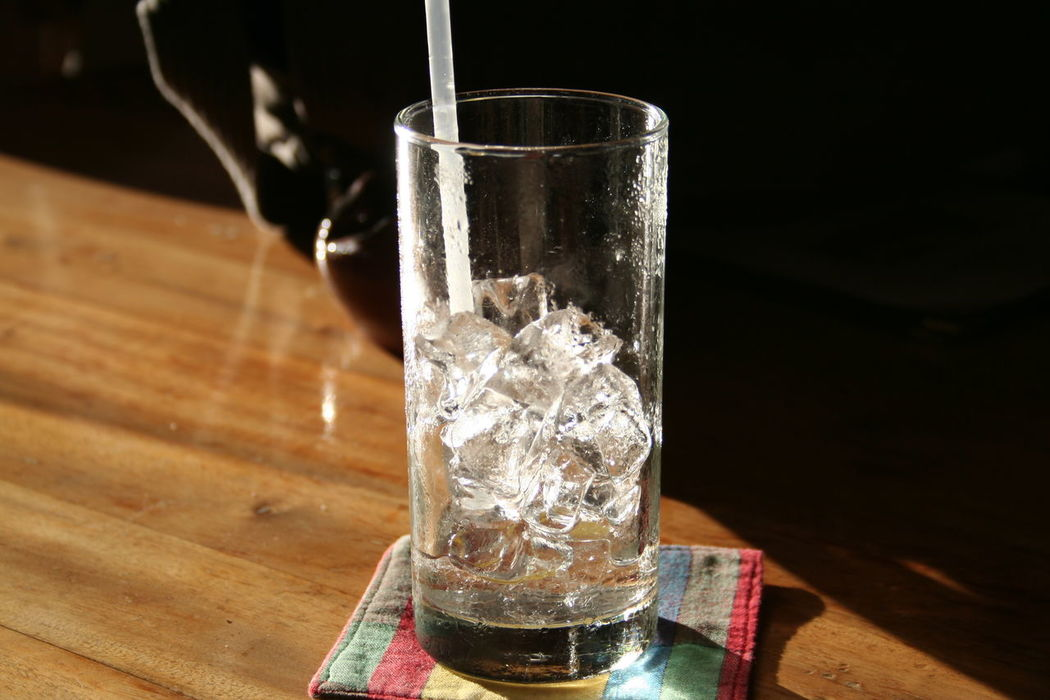 'Ice filled glass' Chilling Out Cool Need A Drink Refeshing Thirst Thirsty  Close-up Drink Drinking Glass Food And Drink Freshness Glass Of Ice Glass On Table Ice Cube No People Quench Quenching My Thirst  Refreshment Table Water Wood - Material
