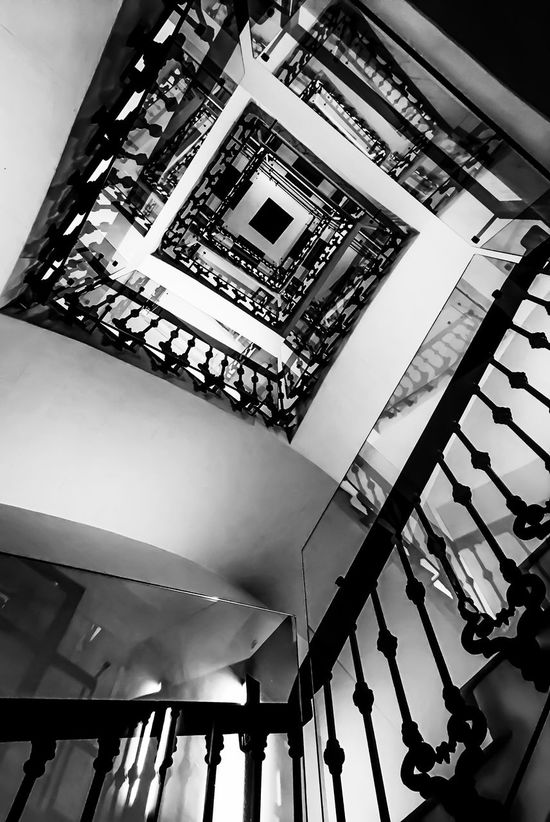 Low Angle View Architecture Built Structure Staircase Steps And Staircases IPhoneography Iphonephotography Travel Destinations City Monochrome Photography Monochrome