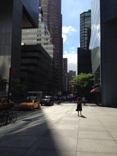 Morning Light NYC Street Spring