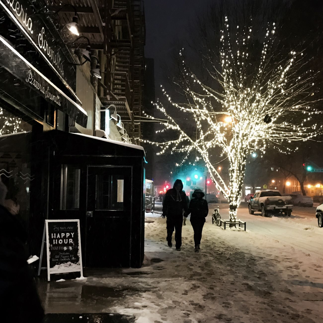 #snow #uws #nyc #winter2017 #happyhour #timyoungiphoneography