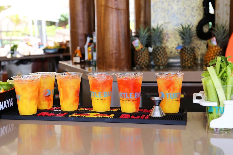 2015  Alcohol Bar Beach Bar Cocktail Day Drink Drinking Glass Freshness Happy Hour Juice Kahuku Table Tequilasunrise The Point Turtle Bay Resort Vacations オアフ島 ザポイント ジュース タートルベイリゾート テキーラサンライズ ハワイ バー