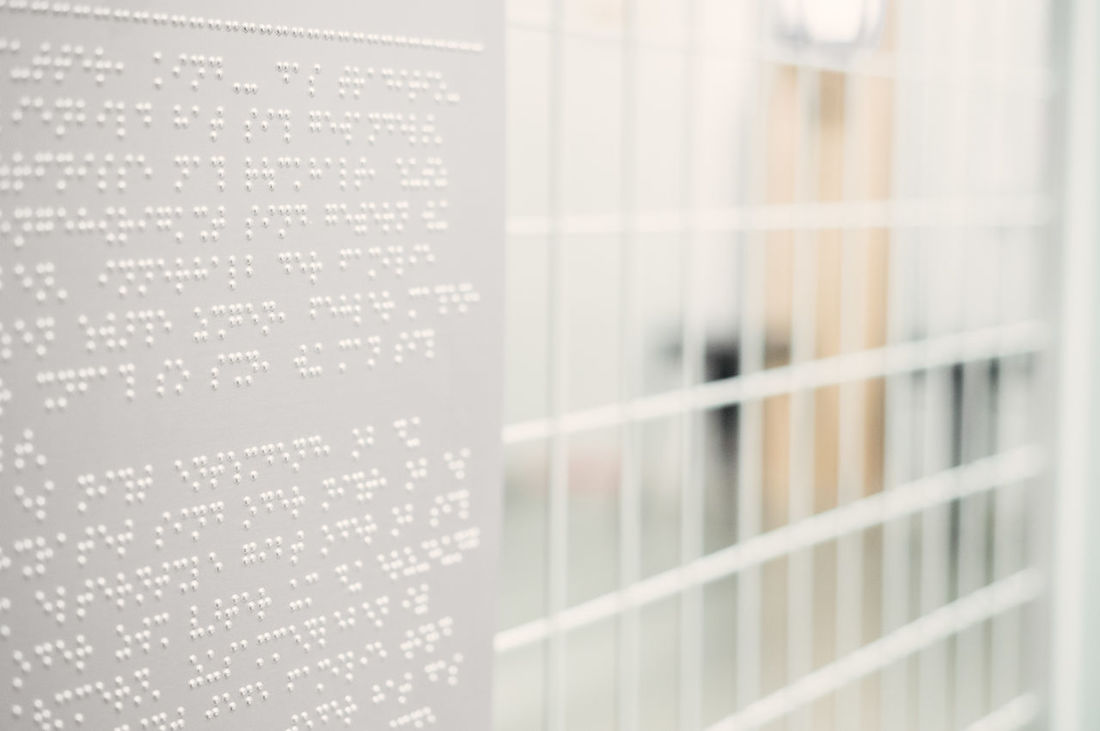 untold story Braille Braille Sign Close-up Day Fence Indoors  Minimalism Minimalobsession No People Technology White