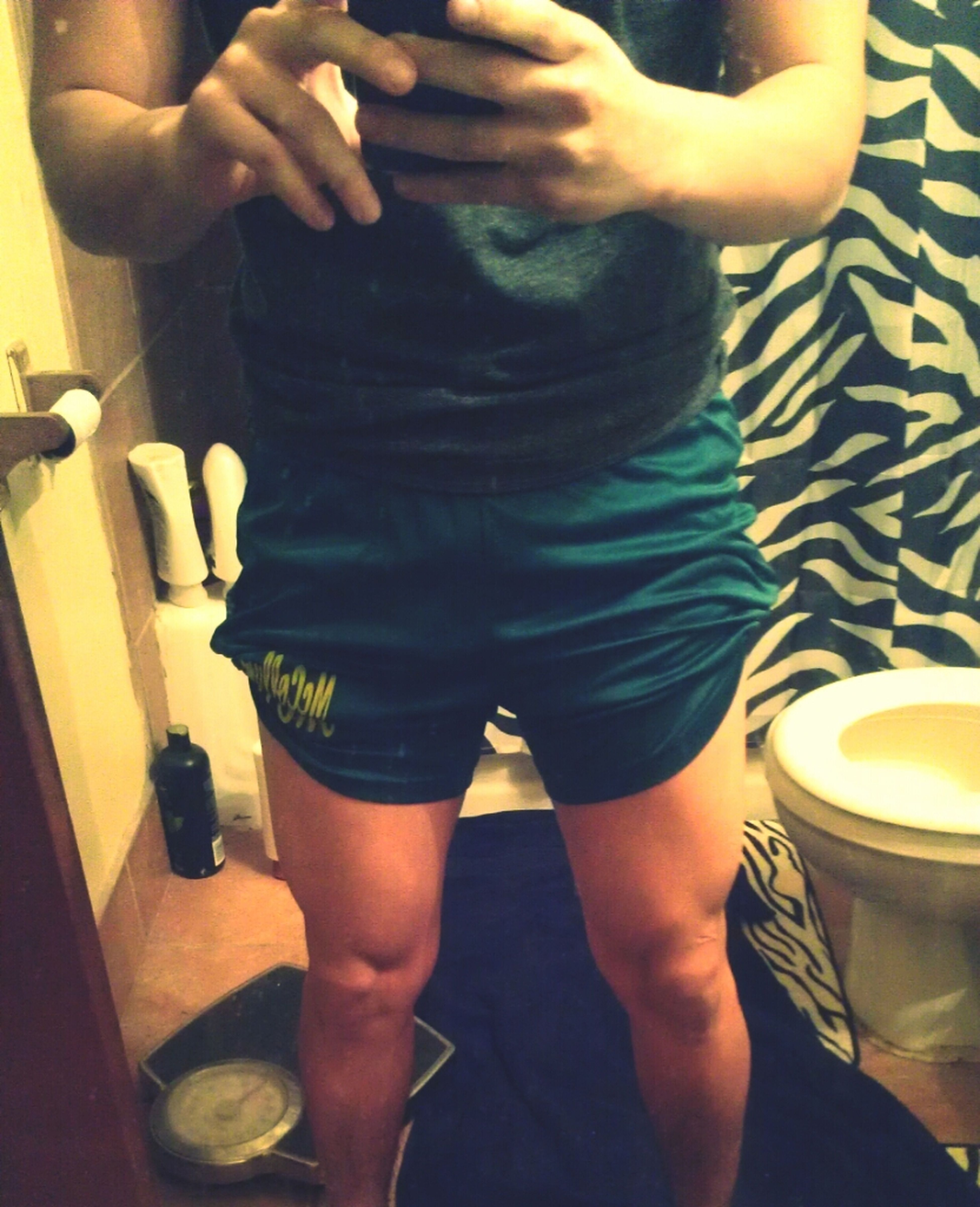 Ehhh got some muscle in my legs :b