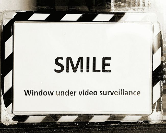 Smile Video Surveillance I'm Watching You Surveillance Smile ✌ Closed Circuit Tv Smile :) Closed Circuit Camera Smile (: Security Sign Security Security Notice Camera Surveillance Securitycam Big Brother Is Watching You Security Cam Surveillance Camera Security Warning Warnings Warningsign Warning Signs  Sign Signs Security System Surveillance,