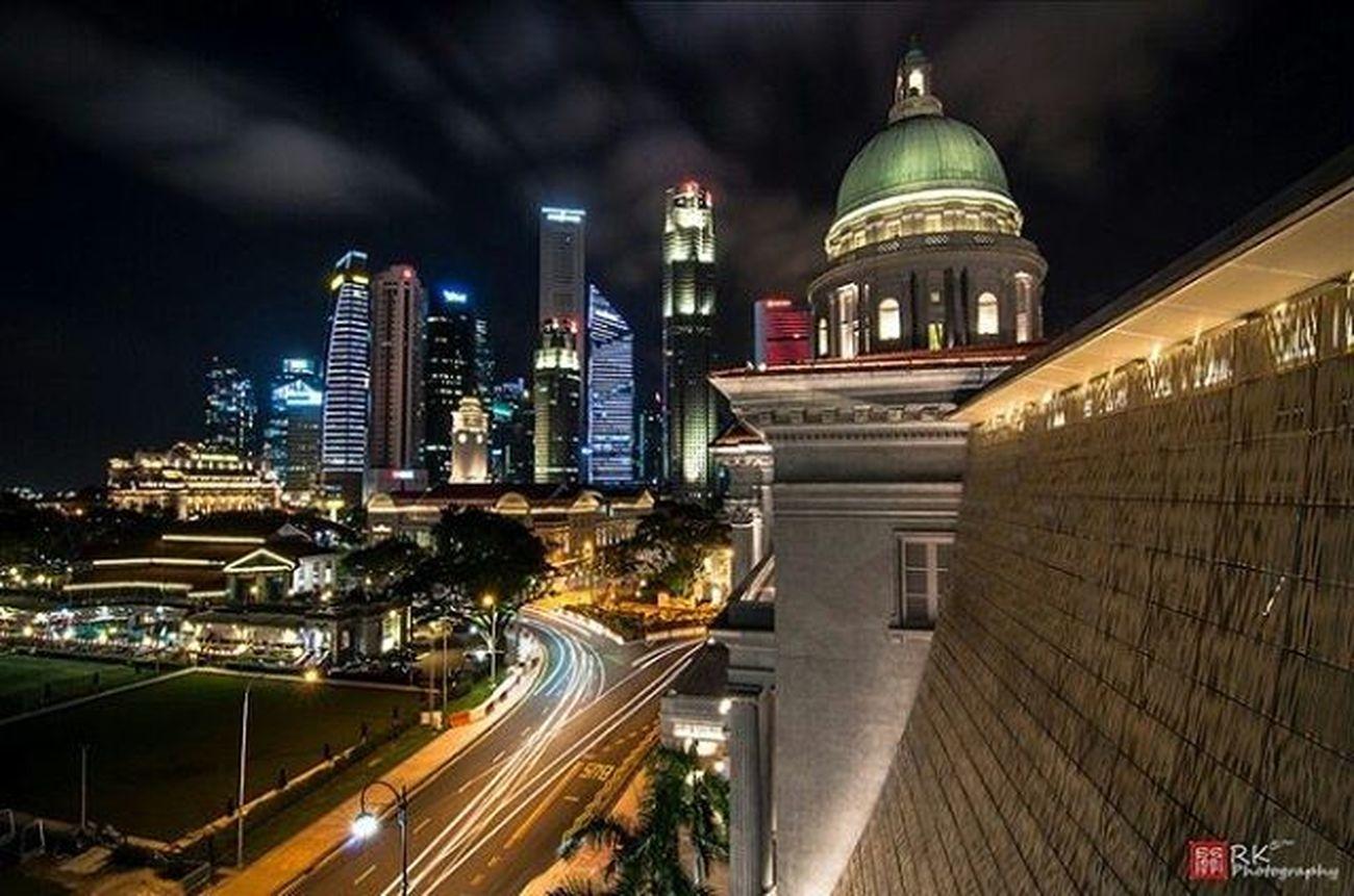 Throwback Photoshoot Singaporenightview Cityscapes Nationalgallerysingapore