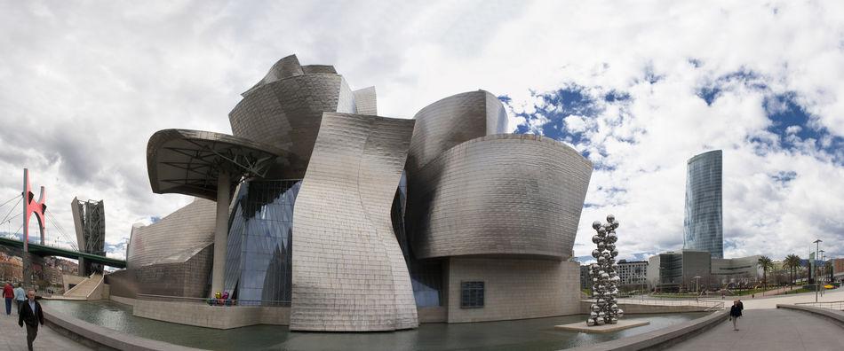 Basque Country Bilbao Euskadi Guggenheim Guggenheim Bilbao Guggenheimmuseum Panorama Panoramic SPAIN Vizcaya