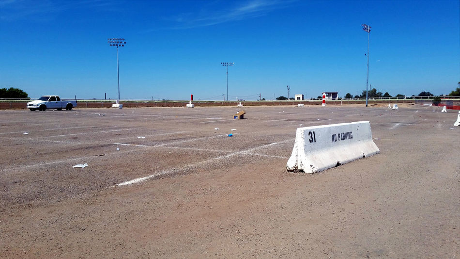BIG Closed Closed For The Season Dirt Lot Empty Empty Lot Event Fair Festival Festival Season Garbage Gravel Litter No Cars  No People Open Parking Parking Lot Parking Spots State Fair The Day After Trash Vast