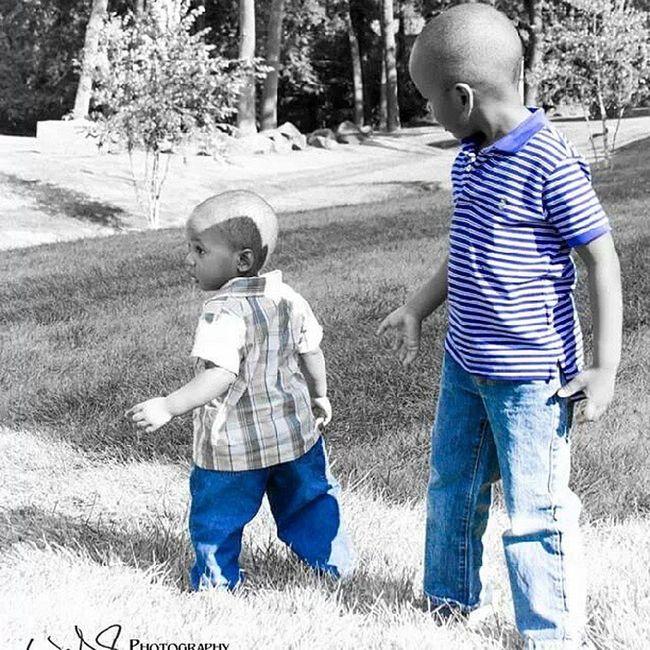 Jaden and Nephew  Kids