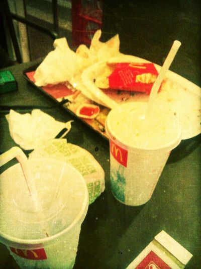 This Was McDonald's Food. I Hate When Somebody Say That You Should Not Post McDonald's Food On A Picture Sharing Web Site. I Not Trying To Get Anybody Mad.