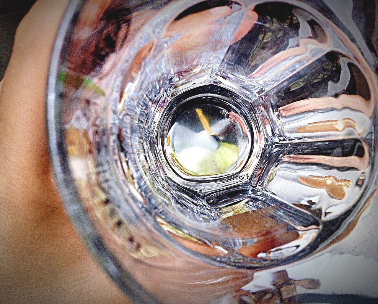 close-up, drinking glass, drink, no people, outdoors, day