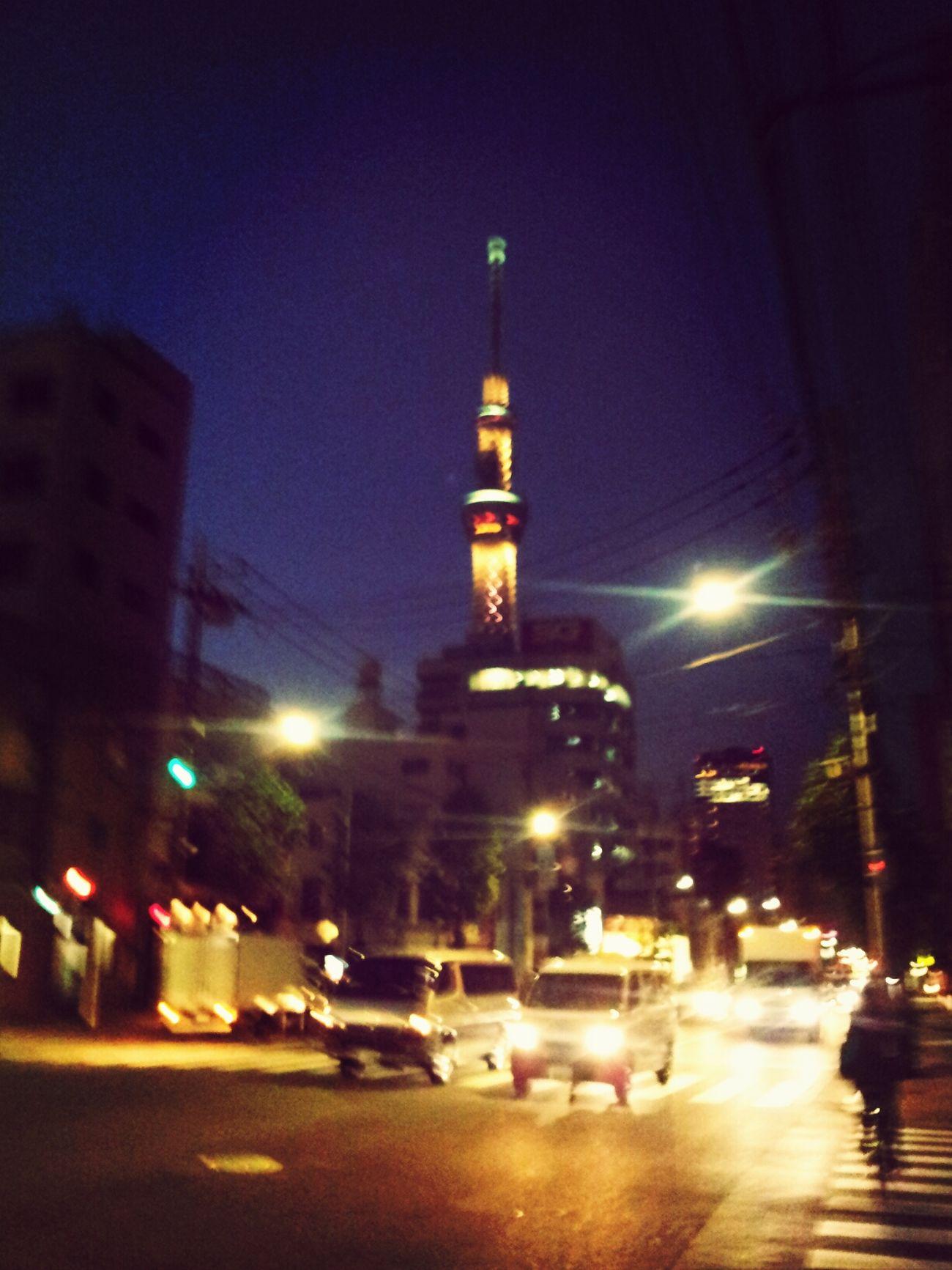 tokyo sky tree Japan Walking Around Relaxing Hello World