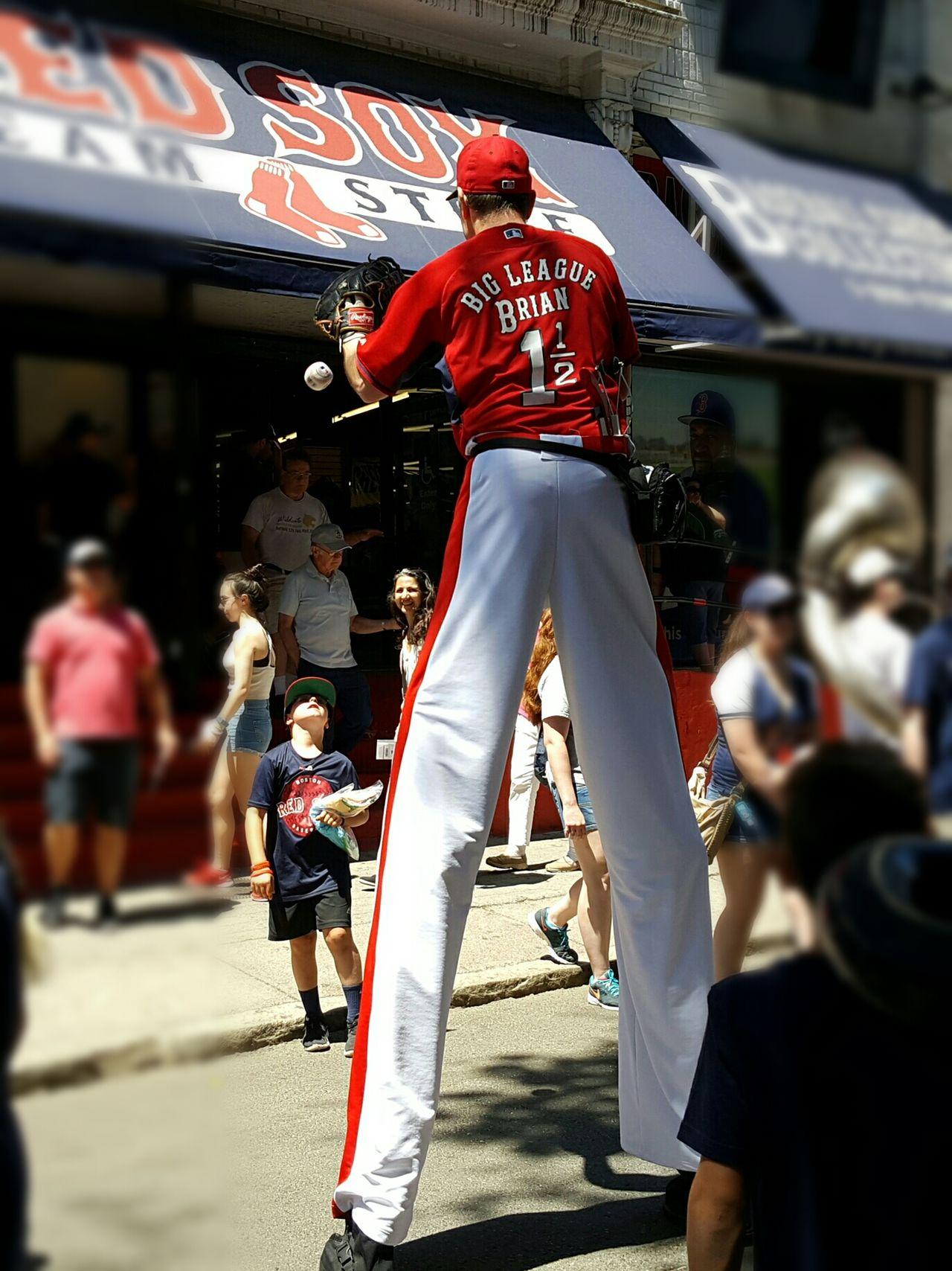 Outside Fenway Park Baseball - Sport Event Sidewalk View Pregame Activities Tall - High EyeEm Best Shots Live For The Story