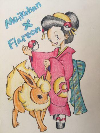 ポケモン Pokémon MyDrawing Illustration Check This Out Hanging Out Taking Photos Manga Painting Drawing