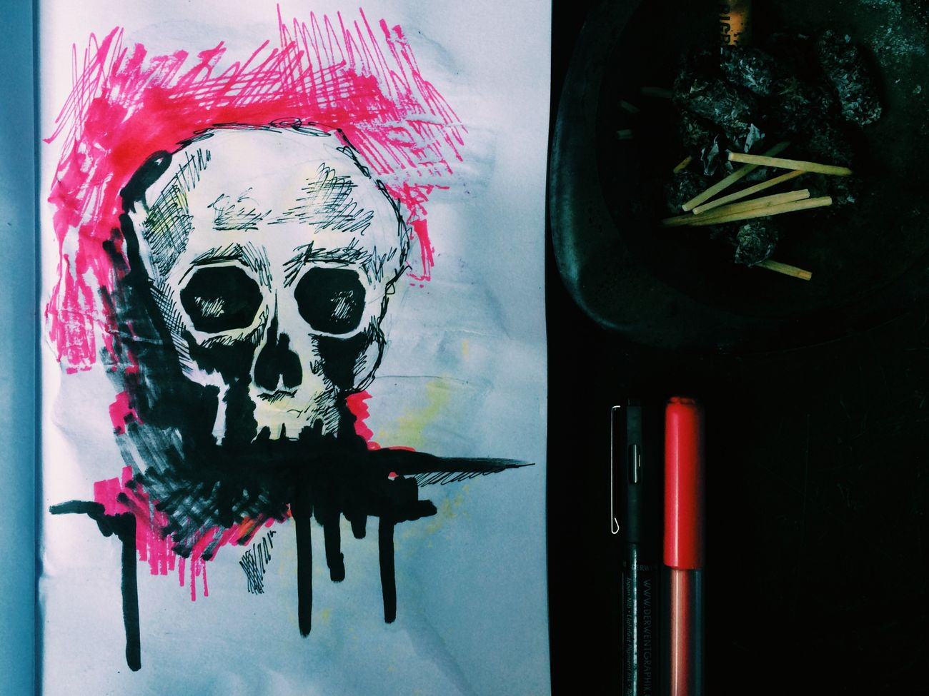 ArtWork Drawing Draw Painting Paint Art Artdrawing Grunge Skillet Art, Drawing, Creativity