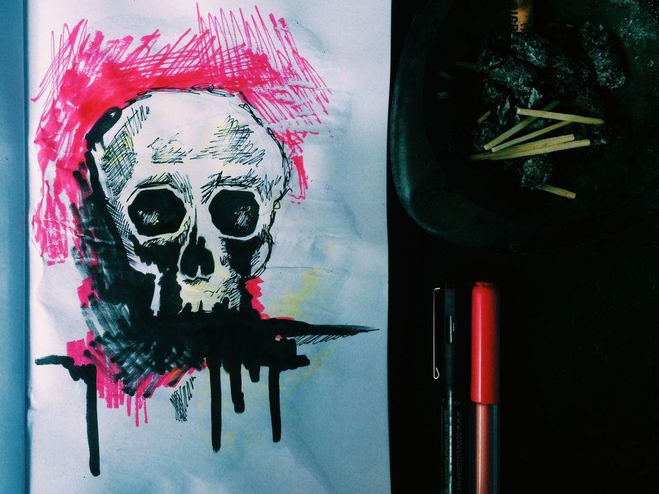 ArtWork Drawing Draw Painting Paint Art Artdrawing Grunge Skillet Art, Drawing, Creativity