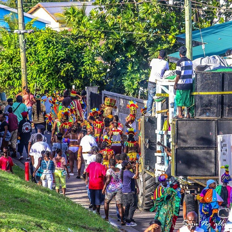 Parade about to start. Spent the whole weekend in the rural town of Saddlers to fully emerce myself in Saddle Fiesta 2014. Looking forward to next year... StKitts Streetphotography Saddlefiesta Canoneos70D Caribbean Caribbeanculture