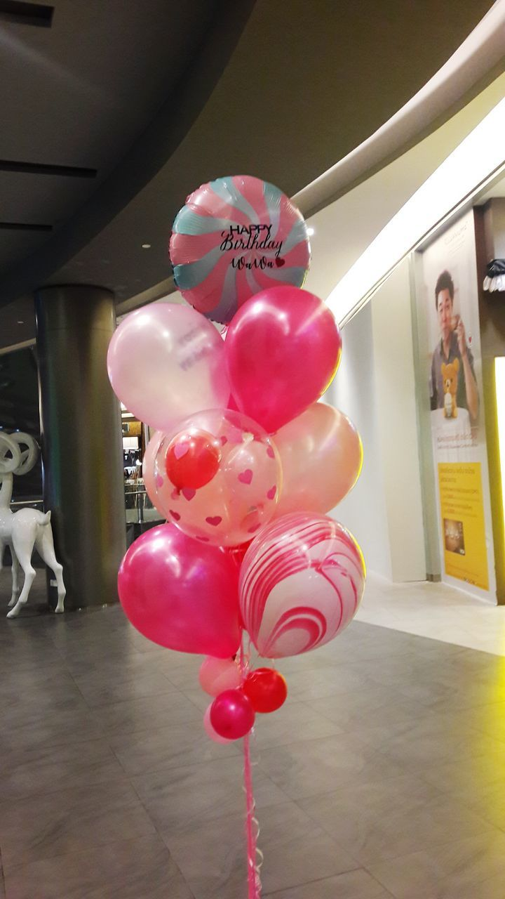 balloon, indoors, one person, real people, celebration, home interior, helium balloon, lifestyles, day, childhood, people