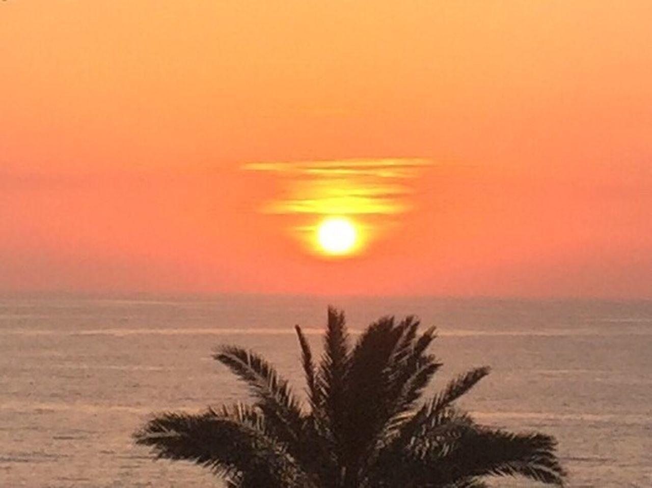 Sunset Nature Beauty In Nature Scenics Sea Tranquil Scene Sky Sun Beach No People Halat Lebanon