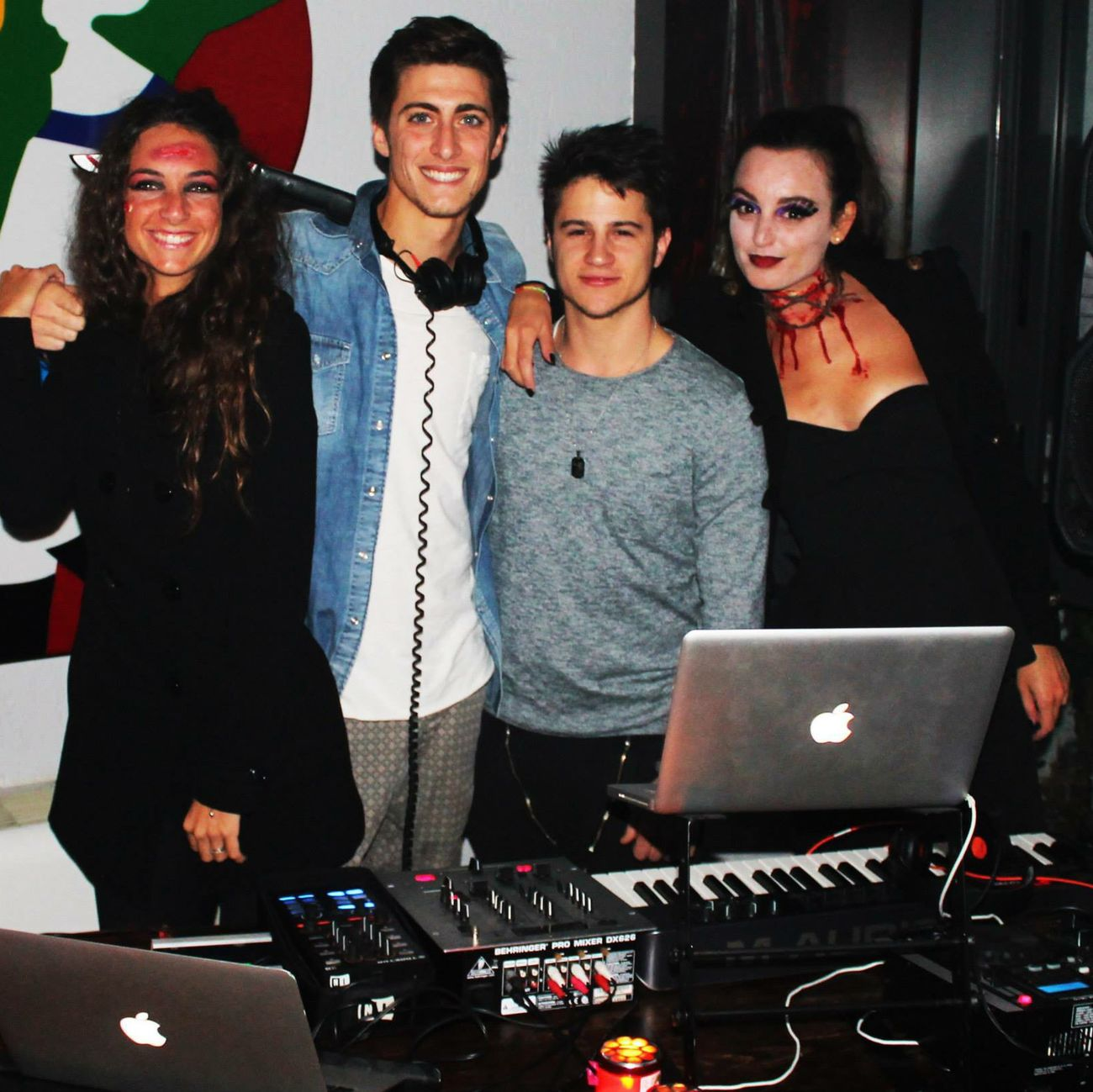 Last Halloween  2014 great music sound with my friend 2loud.