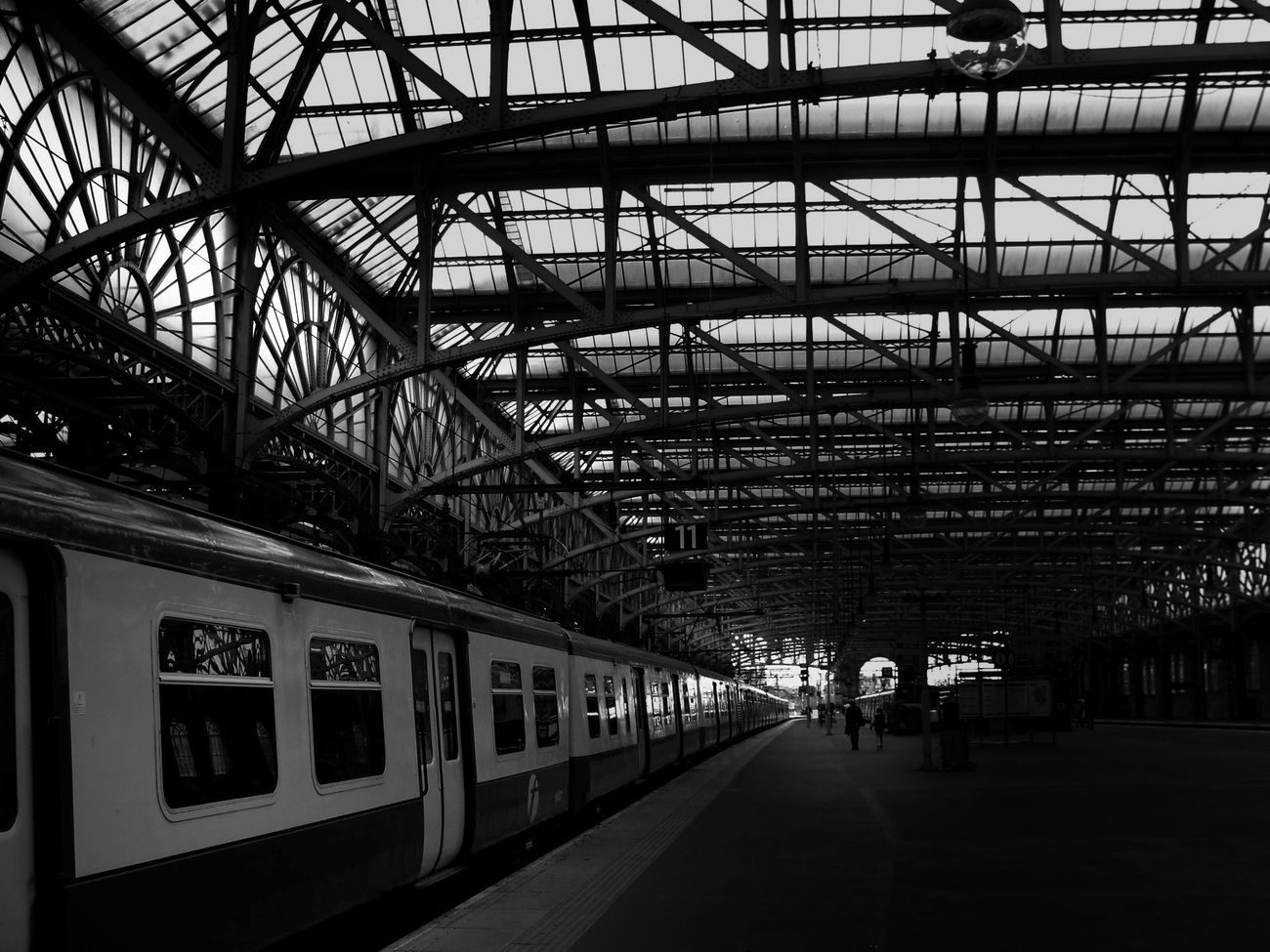 Blackandwhite Black And White Train Station Eye4photography