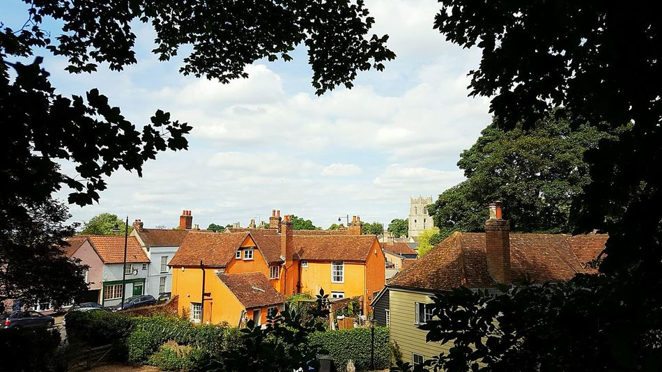 Suffolk, United Kingdom Suffolk Suffolkstreet Tree Architecture Built Structure Building Exterior City Branch Sky Cityscape Crowded Roof Growth Day Town Cloud - Sky City Life Outdoors No People Residential District High Section