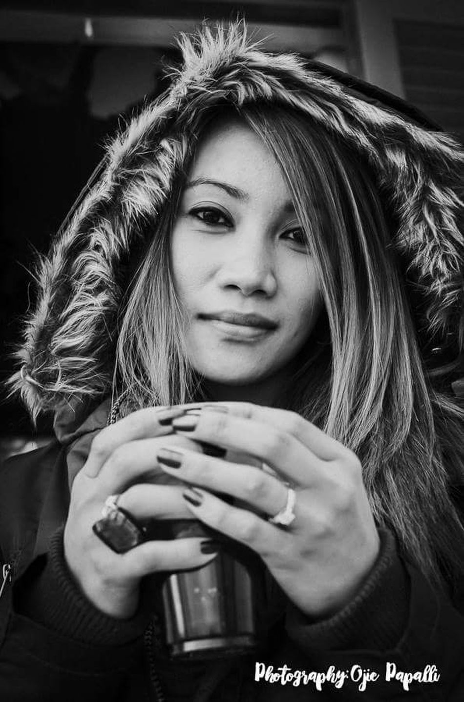 Portrait Of A Woman Filipina Cyprus